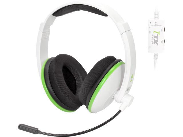 Turtle Beach Ear Force XL1 amplified wired headset w/mic (white)