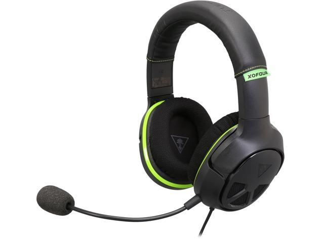 Turtle Beach Ear Force XO Four Stealth High-Performance Stereo Gaming Headset for Xbox One and Mobile Gaming