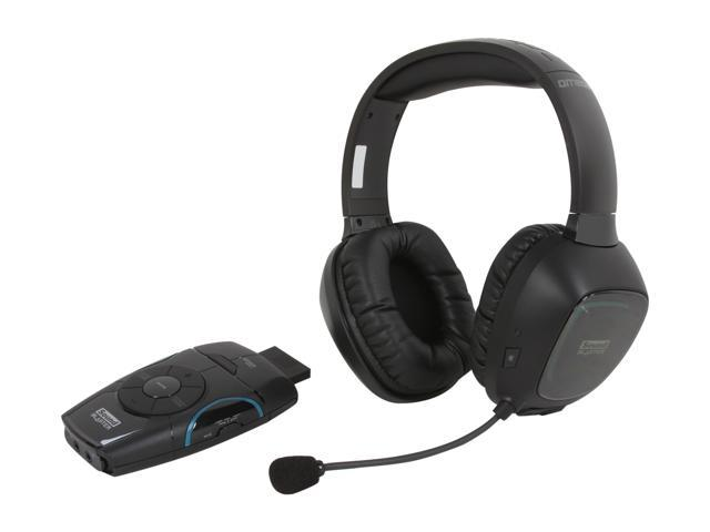 Creative Sound Blaster Recon3D Omega 3.5mm/ USB Connector Circumaural Wireless Gaming Headset