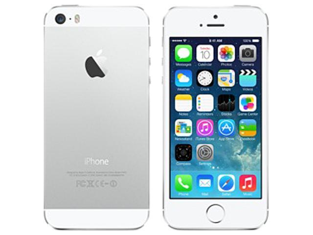 Apple iPhone 5S Silver LTE Apple A7 Chipset Unlocked Cell Phone