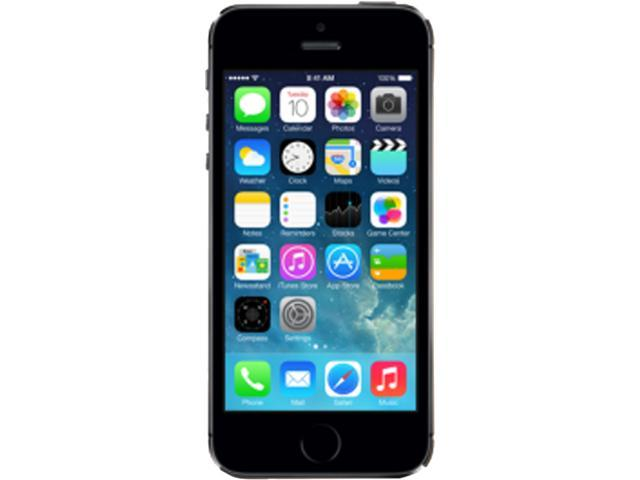 Apple iPhone 5S Gray 3G 4G LTE Dual-Core 1.3GHz 16GB Unlocked GSM iOS Cell Phone ME296C/A