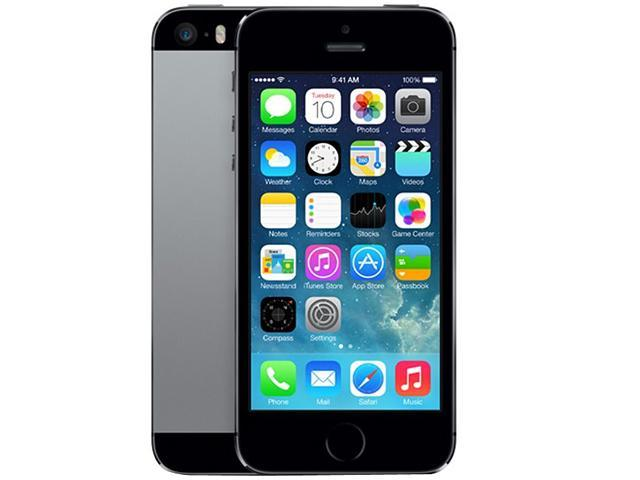 Apple iPhone 5S ME312LL/A Space Gray 4G LTE Dual-Core 1.3GHz 64GB AT&T Unlocked GSM Phone