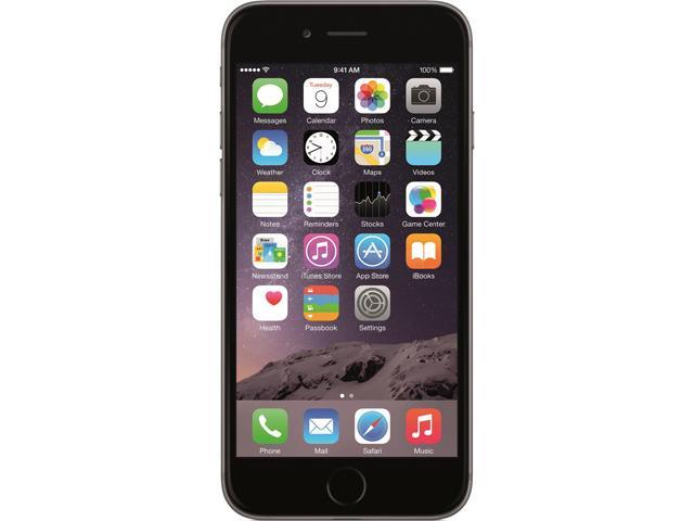 Apple iPhone 6 Space Gray 4G LTE Dual-Core 1.4GHz 128GB 4G LTE Unlocked GSM Cell Phone