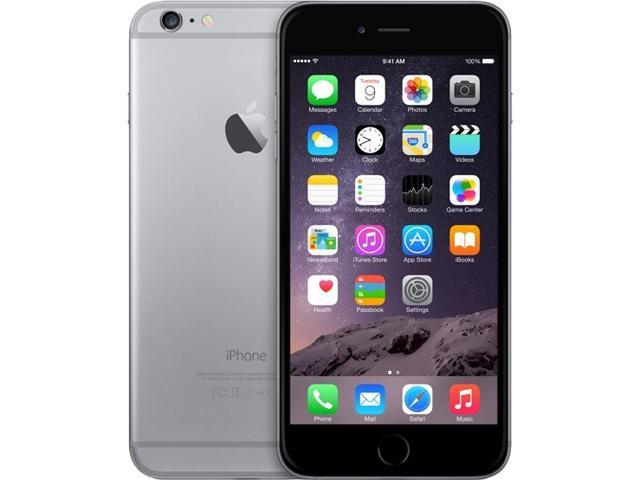 Apple iPhone 6 Plus Space Gray LTE Dual-Core 1.4GHz 16GB 4G LTE Unlocked GSM Cell Phone