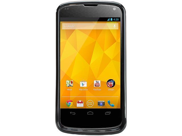 LG Nexus 4 E960 Black 3G Quad-Core 1.5GHz 16GB Unlocked Cell Phone