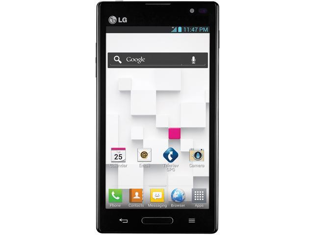 LG Optimus L9 P768 Black Dual-Core 1.0GHz Unlocked GSM Android 4.0 OS Cell Phone