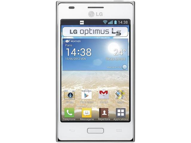 LG Optimus L5 E610 White 800MHz Unlocked GSM Android Cell Phone