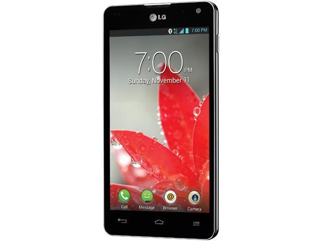 LG Optimus G E970 Black 4G LTE Quad-Core 1.5GHz 16GB Unlocked GSM Android Phone