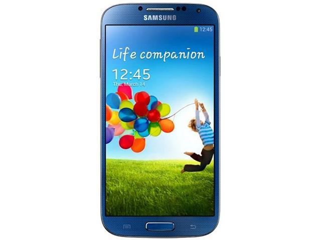 Samsung Galaxy S4 I9500 Blue 3G Quad-Core 16GB Unlocked Cell Phone