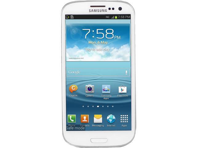 Samsung Galaxy S3 I535 White 3G 4G LTE Dual-Core 1.5GHz 16GB Verizon CDMA Android Unlocked Cell Phone