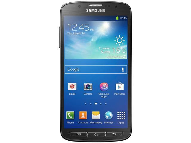 Samsung Galaxy S4 Active I537 Blue 3G 4G LTE Dual-Core 1.9GHz 16BB AT&T Unlocked GSM Phone
