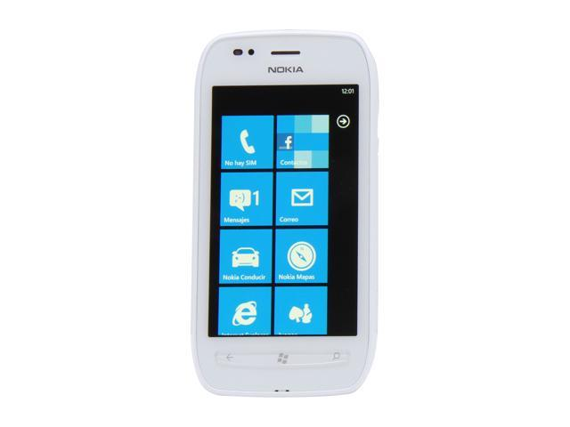 Nokia Lumia 710 White 3G Single-Core 1.4GHz 8GB Unlocked GSM Windows Smart Phone w/ Wi-Fi / Bluetooth / 5 MP Camera / 3.7