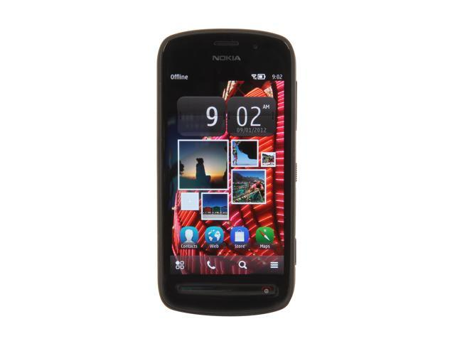Nokia PureView 808 Black 3G 1.3GHz Unlocked GSM Touch Screen Smart Phone with Wi-Fi / Bluetooth / 41 MP Camera with Carl Zeiss Lens