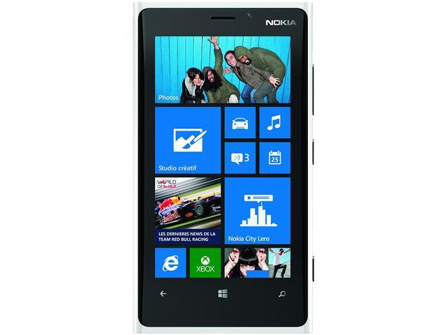 Nokia Lumia 920 White 3G 4G LTE Dual-Core 1.5GHz 32GB Unlocked Cell Phone
