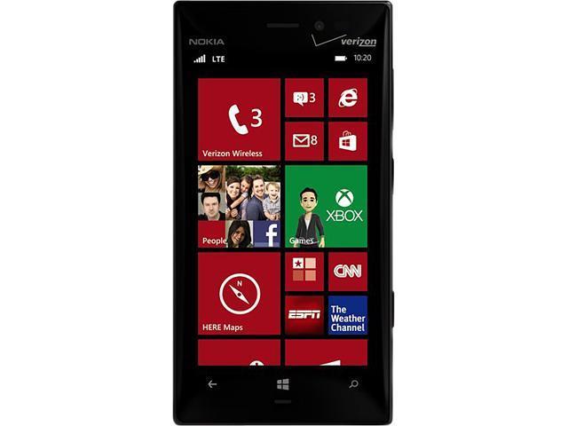 Verizon - Nokia Lumia 928 for Windows (black) - No Contract