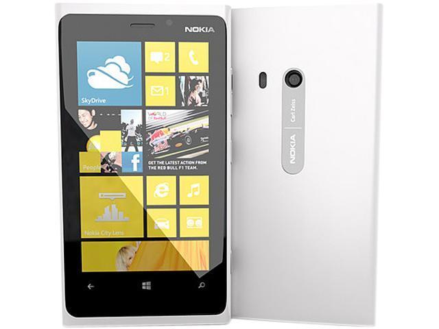 Nokia Lumia 920 White 3G 4G LTE Dual-Core 1.5GHz 32GB Unlocked GSM Windows 8 OS Phone