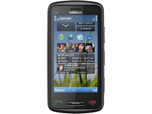 Nokia C6-01 Dark Grey 3G Unlocked GSM 3G Touchscreen Cell Phone