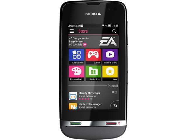 Nokia Asha 311 Dark Grey 3G 1.0GHz Unlocked Cell phone