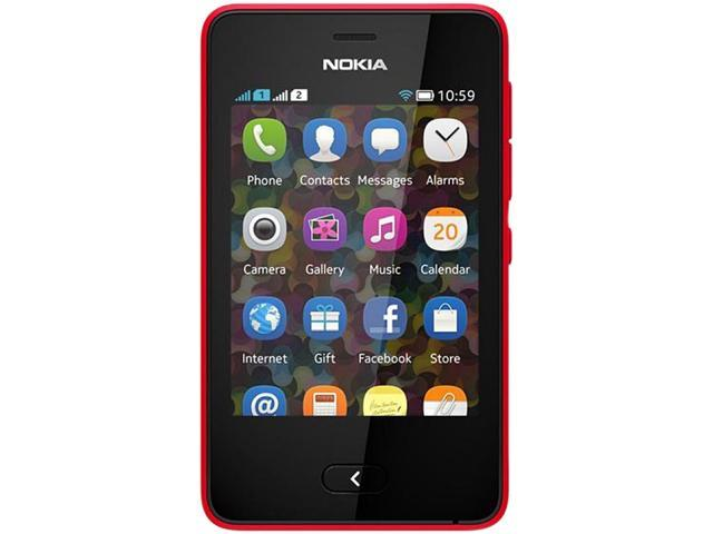 Nokia Asha 501.1 Red Unlocked Cell phone