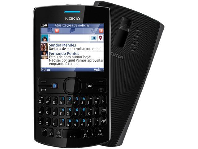 Nokia Asha 205 Black Unlocked Cell Phone