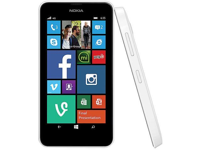 Nokia Lumia 635 (T-Mobile) LTE Quad-Core 1.2GHz Cell Phone