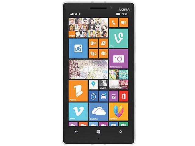 Nokia Lumia 930 RM-1045 White 3G 4G LTE Quad-Core 2.2GHz Unlocked Cell Phone