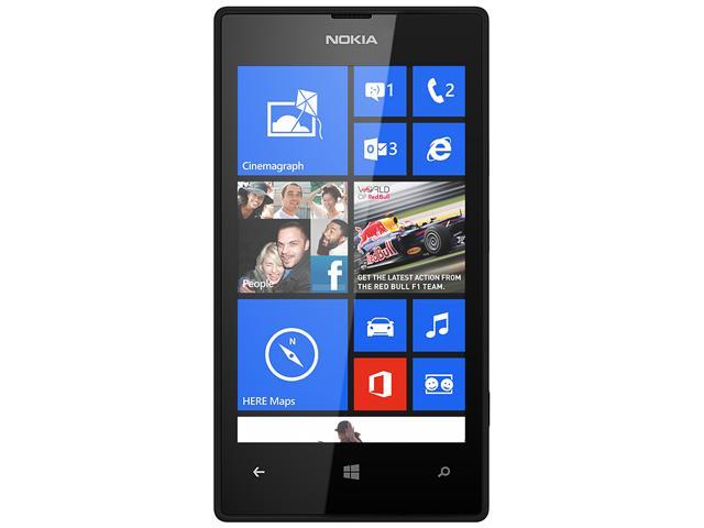 Nokia Lumia 520 RM-915 Black 3G Dual-Core 1.0GHz 8GB Unlocked GSM Windows 8 OS Phone