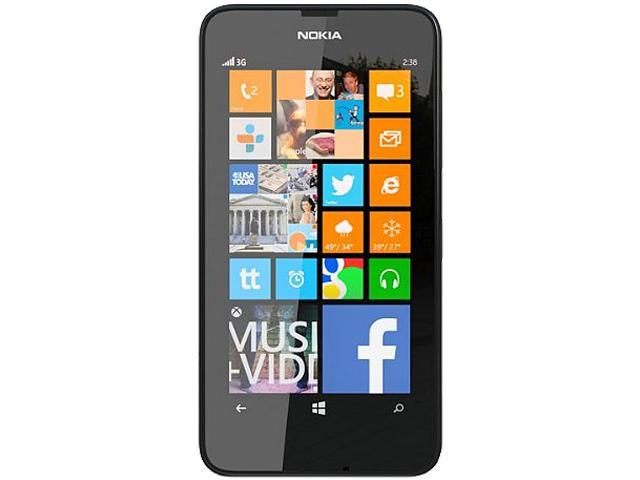 Nokia Lumia 630 Black 3G Quad-Core 1.2GHz Unlocked Cell Phone