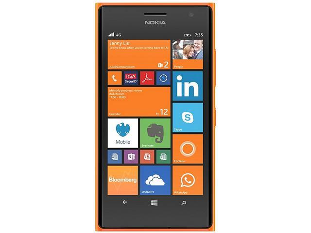 Nokia Lumia 735 Orange 3G 4G LTE Quad-Core 1.2GHz Unlocked Cell phone