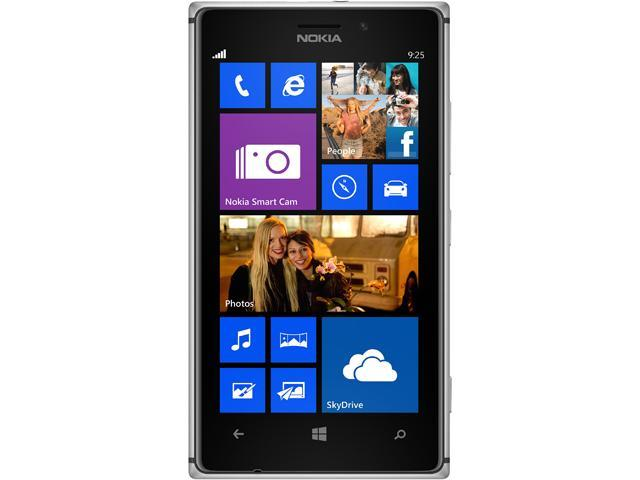Nokia Lumia 1020 RM-877 Black 4G LTE Dual-Core 1.5GHz 32GB AT&T Branded Unlocked GSM Phone w/ 41MP Camera