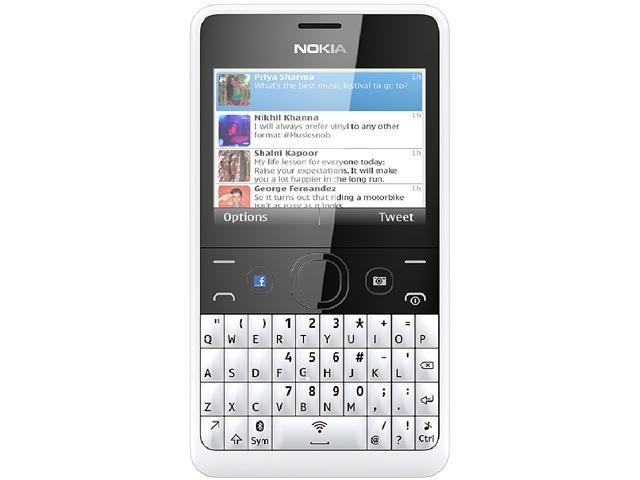 Nokia Asha 210 RM-926 White Unlocked GSM Cell Phone