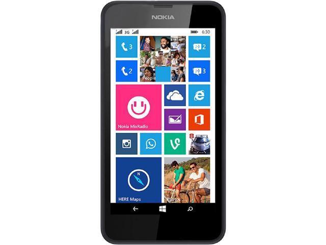 Nokia Lumia 635 RM-975 Black 3G 4G LTE Unlocked GSM Windows 8.1 Phone