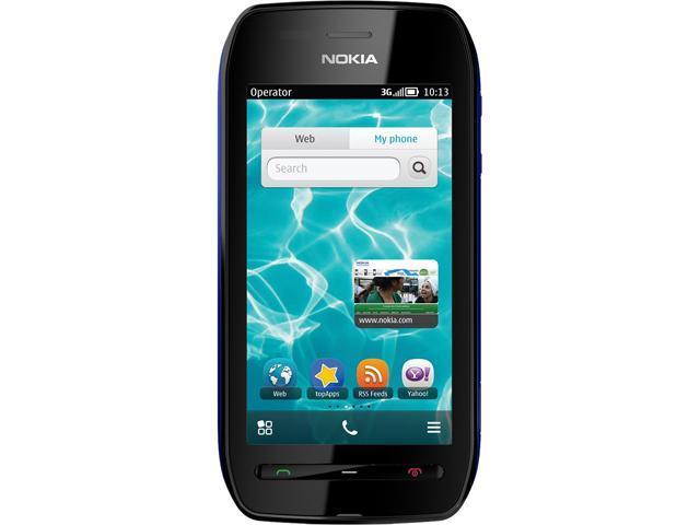 Nokia 603 RM-779 Blue/Black 3G Unlocked GSM Belle OS 3G Touchscreen Phone