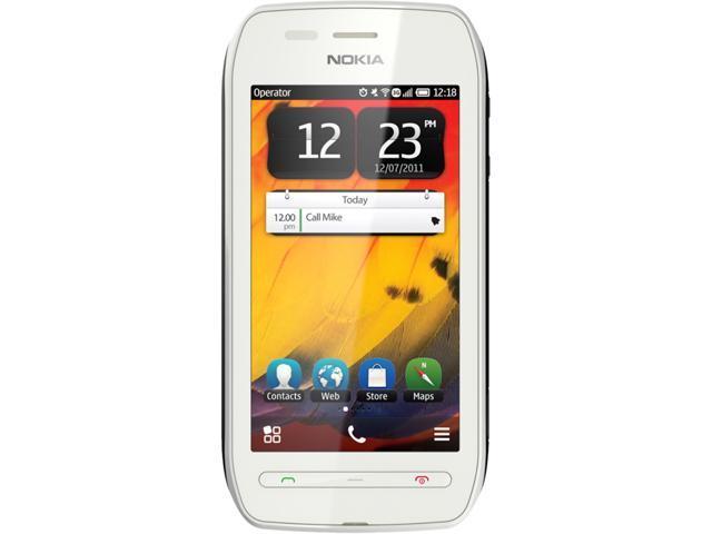 Nokia 603 RM-779 White/Pink 3G Unlocked GSM Belle OS 3G Touchscreen Phone