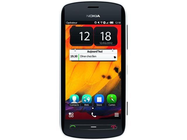 Nokia 808 PureView RM-807 White 16GB Unlocked GSM 41MP + Carl Ziess Camera Phone