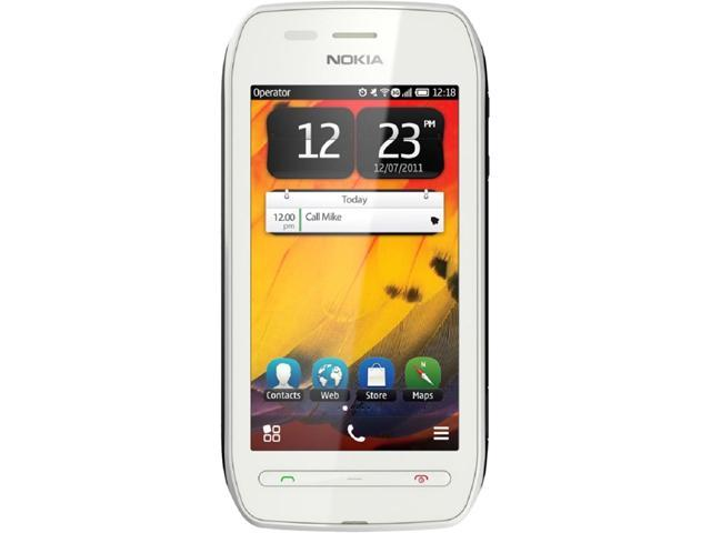 Nokia 603 RM-779 White Unlocked GSM Belle OS 3G Touchscreen Phone