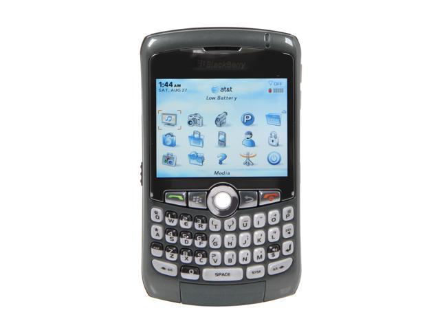 BlackBerry Curve Titanium Unlocked GSM Phone w/ GPS / BlackBerry OS / 2MP Camera / 2.5