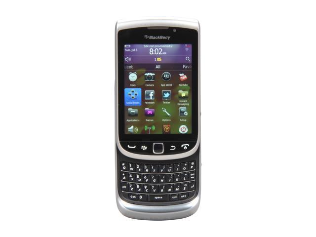 BlackBerry Torch Gray 3G Unlocked GSM Blackberry OS Phone w/ Blackberry OS 7.0 / 3.2