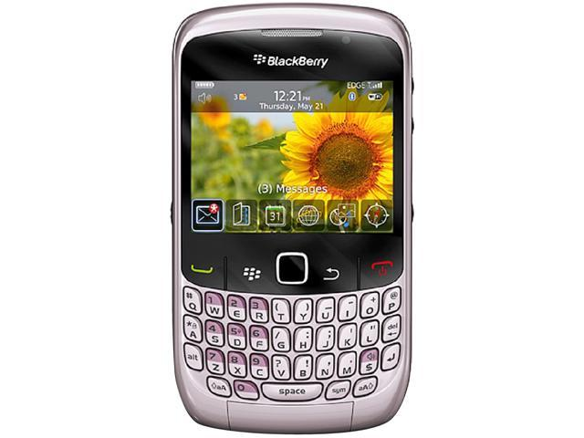 BlackBerry Curve 8520 Pink Unlocked GSM OS 5.0 Cell Phone