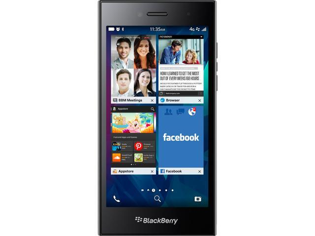 BlackBerry Leap STR100-2 Shadow Grey 4G LTE Dual-Core 1.5GHz 16GB Unlocked GSM Cell Phone