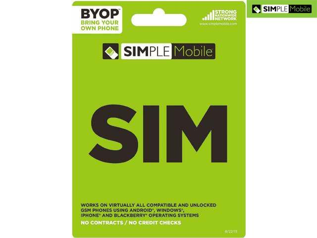 Simple Mobile Activation Sim Card Kit