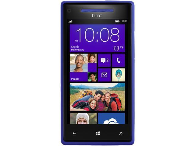 HTC Windows Phone 8X Blue 3G 4G LTE Dual-Core 1.5GHz 8GB Unlocked Cell Phone