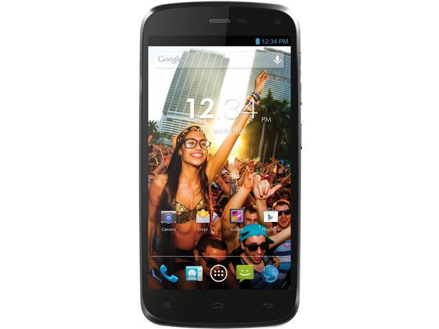 Blu Life Play L100A Gray 3G Quad-Core 1.2GHz Unlocked GSM Dual-SIM Android Cell Phone