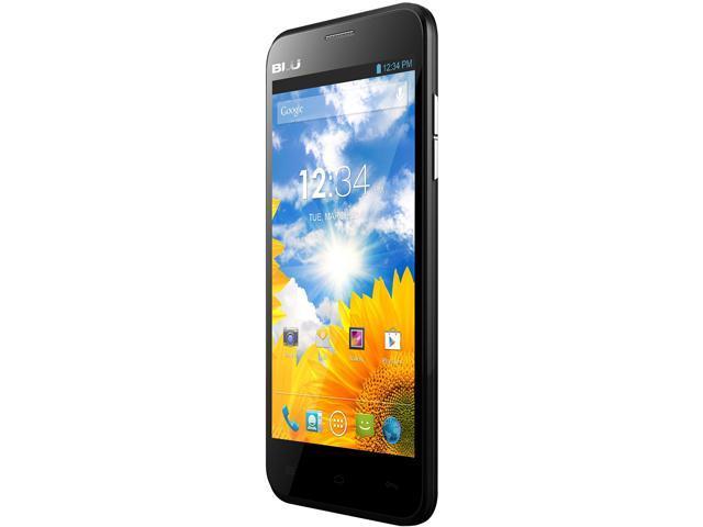 Blu Dash 5.0 D410a Black 3G Dual-Core 1.3GHz Unlocked GSM Dual-SIM Android Cell Phone