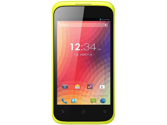 Blu Star 4.0 S410a Yellow 3G Dual-Core 1.3GHz Unlocked GSM Android Cell Phone