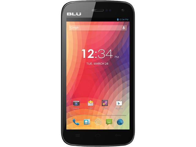 Blu Studio 5.0 II D532u Black 3G Dual-Core 1.3GHz Unlocked GSM Dual-SIM Android Cell Phone