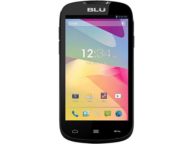Blu Dash 4.0 D270a Black 3G Unlocked GSM Dual-SIM Android Cell Phone