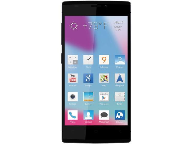 Blu Vivo IV D970L Black 3G Eight-Core 1.7GHz Unlocked GSM Octa-Core Android Phone