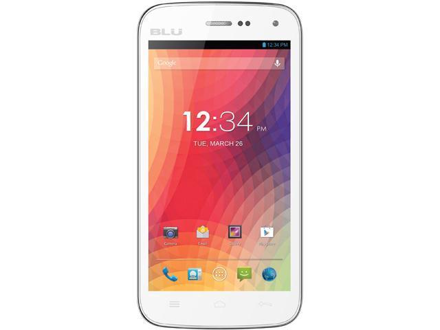 Blu Studio 5.0 II D532u White 3G Dual-Core 1.3GHz Unlocked GSM Dual-SIM Android Cell Phone