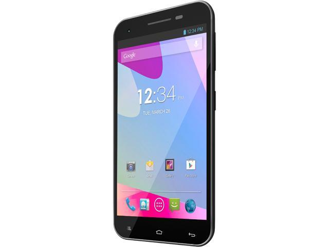 Blu Studio 5.5 D610a Gray 3G Quad-Core 1.2GHz Unlocked GSM Dual-SIM Android Cell Phone